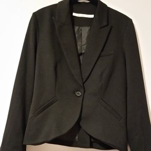 Knit Gibson fitted blazer